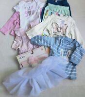 10+ Baby Girl Carter's Unicorn NB 0 3 M Big Lot Tutu Bunny Pants Sleeper New