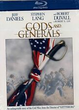 NEW  BLU-RAY //GODS AND GENERALS // Robert Duvall, Stephen Lang, Jeff Daniels,