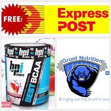 BPI Sports Best BCAA Watermelon Ice Flavour 30 Serves Promotes Strength & Muscle