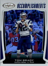 2017 Certified Accomplishments #6 Tom Brady - NM-MT