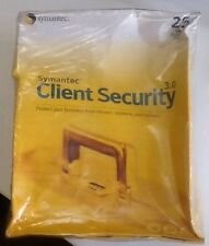 Symantec client security 3.0 25 user business pack Retail Box Full