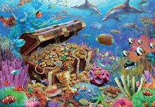 New Underwater Treasure 1000 Piece Oceanscape Ocean Sea Jigsaw Puzzle by Jumbo