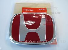 Honda Civic Type-R FK2 EMBLEM FRONT H Red Genuine OEM 2012-14 Badge Type R NEW E