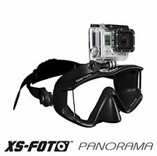 3 Window Lens Panorama w/ Solid Steel Mounted Camera & Extra Quick Comfort Strap