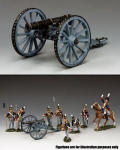 KING & COUNTRY THE AGE OF NAPOLEON NA338 BRITISH ROYAL ARTILLERY CANNON MIB