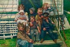 """Cousins"" Giclee:  David Kreitzer Contemporary Realist Fine Art   dkreitzer.com"