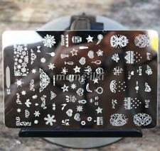Gran Arte en Uñas Imagen Estampar Planchas para Estampar Manicura Plantilla Polaco imagen (D28)