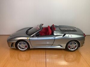 BBR 2007 Ferrari F430 Diecast 1:18, HE180024. Titanium Silver with red interior,