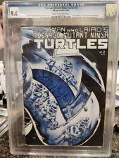 Teenage Mutant Ninja Turtles #2 CGC 9.6 1st Print TMNT 1st Mousers & April Oneil