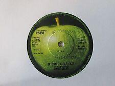 """Ringo Starr-It Don't Come Easy-R5898-Vinyl-7""""-Single-Record-45-1970s"""