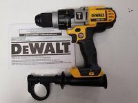DEWALT DCD985B 20V 20 VOLT MAX Lithium Ion 1/2'' 3 Speed Hammer Drill Tool NEW