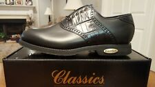 VINTAGE FOOTJOY CLASSICS TOUR MENS GOLF SHOES 51315 BLACK 12.5E  Made in USA