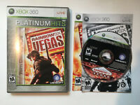 Rainbow Six Vegas - Platinum Hits - Case Water Damaged - Complete CIB - Xbox 360