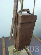 Antique Leather Photographic Instrument Camera Case, James A Sinclair, London