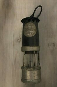 Hailwood & Ackroyd Ltd Morley Leeds Type 01 SA Miners Lamp
