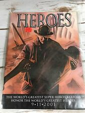 Heroes 9/11/2001 Tribute to the Fallen by many comic book artists Stan Lee