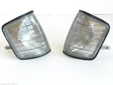 MERCEDES 190 & 190E [W201] 1982-1993 FRONT INDICATOR REPEATER SET SMOKED PAIR