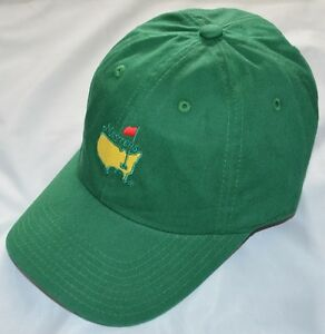 2020 MASTERS (GREEN) Slouch Golf HAT from AUGUSTA NATIONAL
