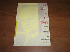 The Legacy of B. F. Skinner: Concepts,Perspectives,Controversies..R.Nye 1992 PB