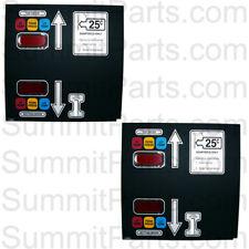2Pk - Keypad,Dual Pocket .25 - For American Dryer - 112562