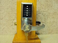 Kaba LR1076 LR1000 Pushbutton Lock Has Lock Out Function and Over Ride w/Keys