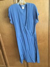 Ghost from London vintage rayon short wrap dress size L
