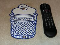 """VINTAGE FOSTER'S FREEZE ICE CREAM CONE CALIFORNIA 8.5"""" PORCELAIN METAL GAS SIGN!"""