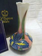 Old Tupton Ware - small BUD VASE (TW1272), Floral Design (Boxed)