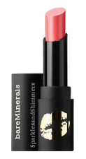 bareMinerals Mini Statement Luxe Shine Lipstick Shimmer Peach Pink Tease 1.3g