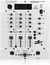 Mischpult Behringer Pro Mixer DX626 3-Kanal Elektronik  Studio Equipment Silber