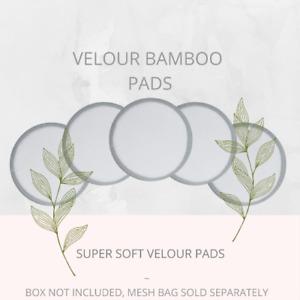 Soul Projekt Velour Reusable Bamboo Make Up Remover Pads Vegan Washable