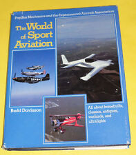 The World of Sport Aviation 1982 First Edition Great Photographs! Nice See!