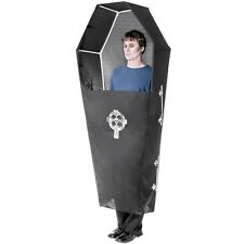 COFFIN Deluxe Adult Costume Creepy Funny Halloween Outfit Morbid Macabre