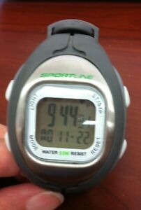 Sportline Solo 915 (GREY) Women's Heart Rate Monitor   Calorie Monitor