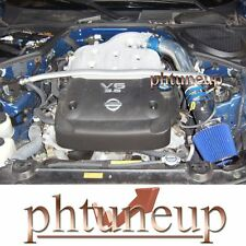 BLUE fit 2003-2006 NISSAN 350Z 350ZX 3.5 3.5L V6 AIR INTAKE KIT SYSTEMS