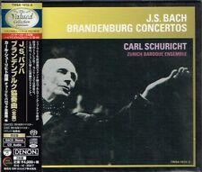 J. S. Bach Brandenburg Concertos Carl Schuricht Japan 2 SACD w/OBI NEW
