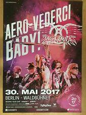 AEROSMITH 2017 BERLIN  --  Tour Poster    --   84 x 59 cm