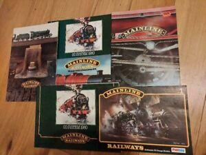 6 Palitoy Mainline Railway Catalogues OO Gauge
