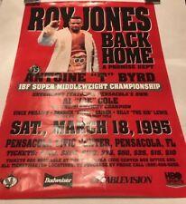 Vintage Roy Jones Jr vs Antoine Byrd Boxing Event Poster Size 18 x 26 Rare Orig