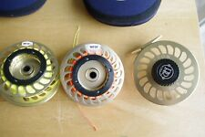 Ross Reels, Canyon Big Game Reel 5, 8-10 Weight, Gold, Fly Reel with extra spool
