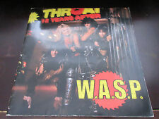 W.A.S.P. 1984 Japan Tour Book Concert Program WASP Heavy Metal Blackie Lawless