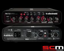 TC Electronic RH750 750W Bass Amplifier Head Tone Print Amp Portable Powerful