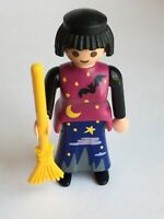 Playmobil Special Edition Halloween Witch and Broomstick 4550 Retired