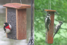 Barn wood Feeder Sunflower Feeder & Suet Feeder-Deal