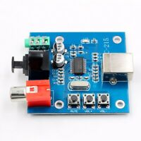PCM2704 USB DAC to S/PDIF Sound Card Audio Decoder Board 3.5mm Analog Output New