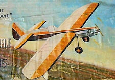 "Model Airplane Plans (UC): Midwest MAGICIAN 15 32""ws Stunter for .09-.15 Engines"