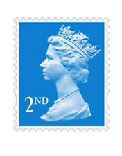 500 x 2nd Class Royal Mail Unfranked Stamps,No Gum ,Off Paper Stamps ,FV £290.00
