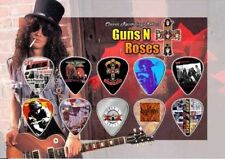 GUNS N ROSES - A5 SIZE LIMITED EDITION - GUITAR PICK DISPLAY