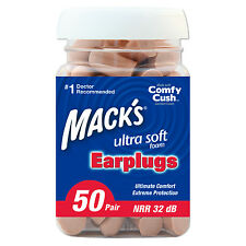 Mack's Ultra Soft Foam Earplugs 50 Pack - 50 Pairs