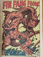 Fin Fang Foom! (4) books; 1 Silver Age, in Shang-Chi movie - You gotta see this